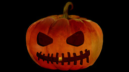 Candle In The Jack O'Lantern 3 -Alpha Version- Animation