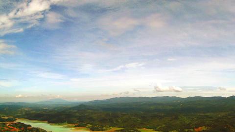 Panorama of the Vietnamese Countryside Footage