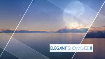 Elegant Showcase II - Apple Motion and Final Cut Pro X Template Apple Motion 模板