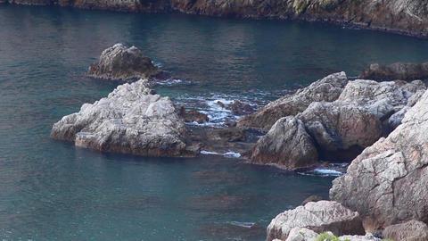 Mediterranean rocks Footage