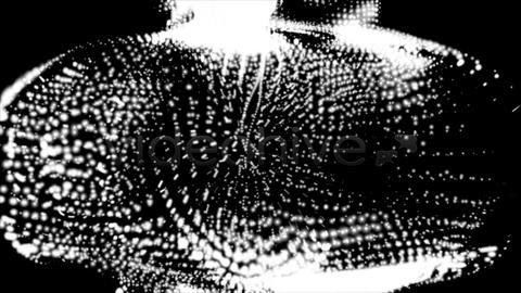 Digital Medusa stock footage