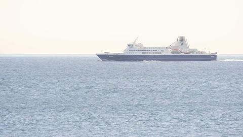 Ferry between Streymoy and Suduroy Footage