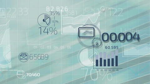 Business infographics Animation