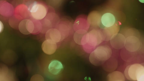 Abstract cristmas bokeh Footage
