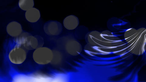 Liquid one overflowing in another Animation