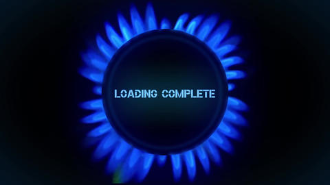 Gas loading After Effects Template