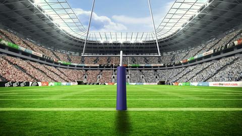 American football stadium Animation