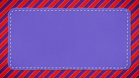 Red Stripes Blue Rectangle Shape Background 2 Animation