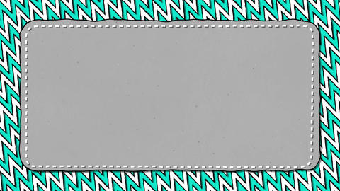 Salad Stripes Zig Zag Grey Rectangle Shape Background For Text Animation