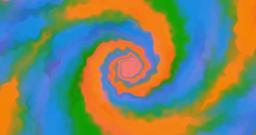 Swirl colored foggy Animation