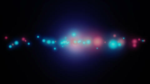 Particles Background Lightings Bokeh Event Horizon Animation