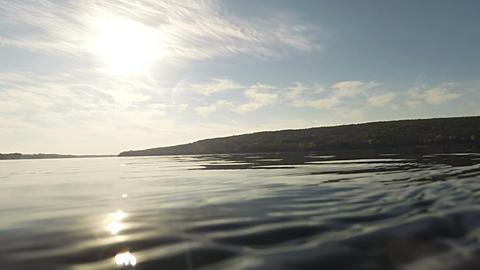 River Landscape 03 stock footage