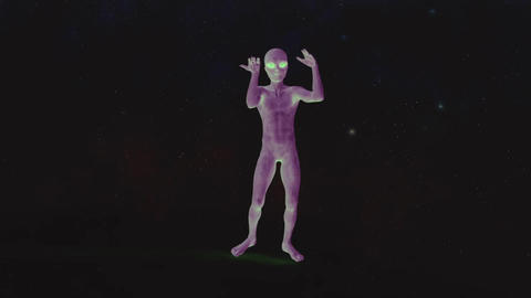 alien dancing animation Animation