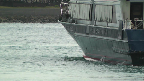 Port in Ishigaki Okinawa 36 vessel Stock Video Footage