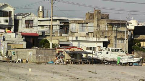 Port in Okinawa Islands 17 Stock Video Footage