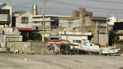 Port in Okinawa Islands 17 Footage