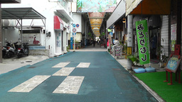Rural Japanese Market in Okinawa Islands 11 Stock Video Footage