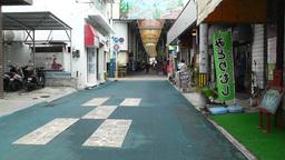 Rural Japanese Market in Okinawa Islands 11 Stock Video Footage