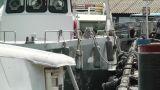 Rural Japanese Port 01 heat mirage Footage