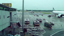 Singapore Changi Airport 07 Footage