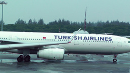 Singapore Changi Airport 09 turkish airlines Footage