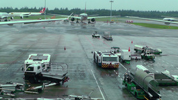 Singapore Changi Airport 13 Footage