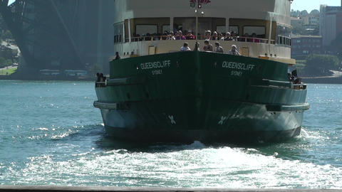 Sydney Circular Quay Port 02 Stock Video Footage
