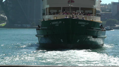 Sydney Circular Quay Port 02 Footage