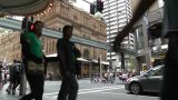 Sydney Downtown George Street 01 Footage