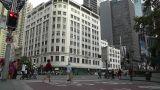 Sydney Downtown George Street 06 traffic Footage