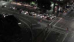 Sydney Elizabeth Street Liverpool Street at Night 01 timelapse Footage