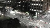 Sydney Elizabeth Street Liverpool Street at Night 03 Footage
