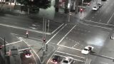 Sydney Elizabeth Street Liverpool Street at Night 05 timelapse Footage