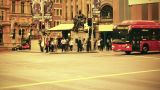 Sydney George Street 70s old film stylized 07 Footage