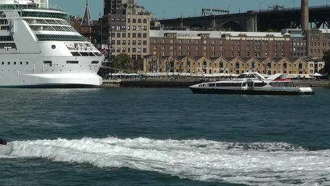 Sydney Harbour 01 Stock Video Footage