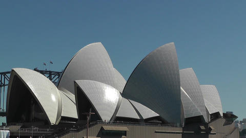 Sydney Opera House 01 Stock Video Footage