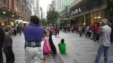 Sydney Pitt Street Crowd Footage