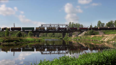 freight train Stock Video Footage