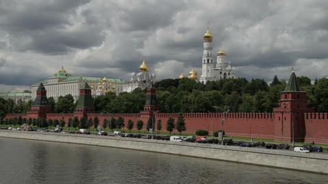 Moscow center Stock Video Footage