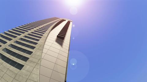 高層ビル Stock Video Footage