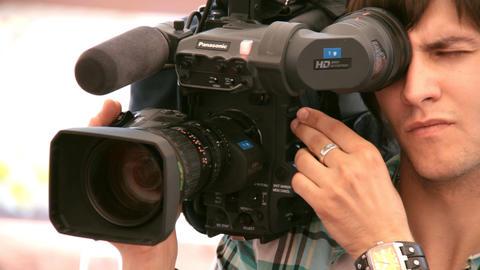 cameraman Stock Video Footage