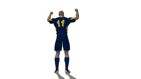 サッカー選手 Animation