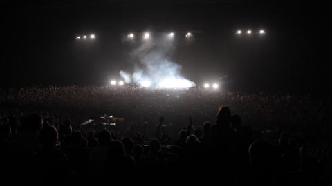 concert chemical brothers Stock Video Footage