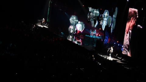 concert muse Stock Video Footage
