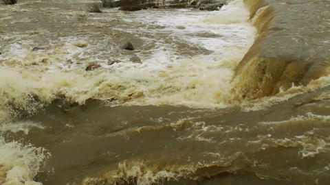 Waterfall in a river 7 Stock Video Footage