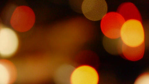 Shaking lighting at night,hallucinations,illusion like dream Stock Video Footage