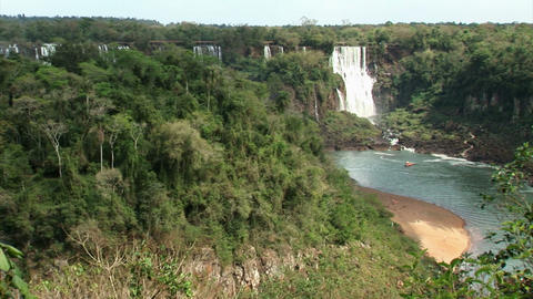 Brazil: Iquazu Falls, Devil's Throat 4 Stock Video Footage