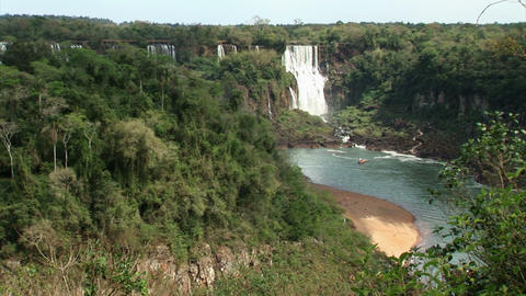 Brazil: Iquazu Falls, Devil's Throat 4 Stock Video Footage