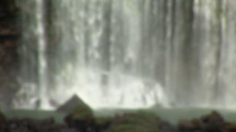 Brazil: Iquazu Falls, Devil's Throat 1 Stock Video Footage
