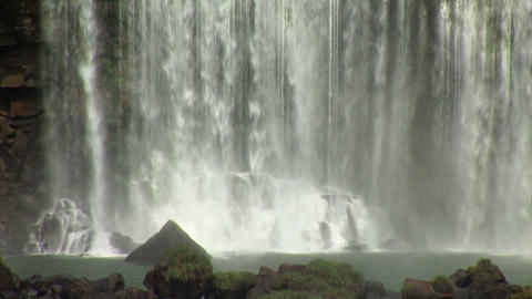 Brazil: Iquazu Falls, Devil's Throat 1 Stock Video Footage